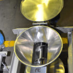 Hopper feeding into screw conveyor better new but keep