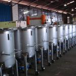 300L tote bins, ready for dispatch
